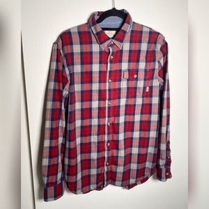 Vans Plaid Classic Fit Button Up Shirt